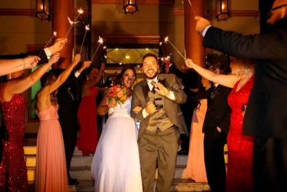 Casamento no Buffet Casa Bertolazzi