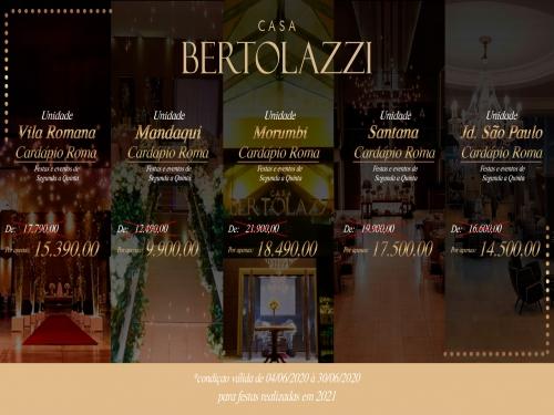 Promoção mês de junho Casa Bertolazzi